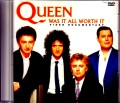 Queen クィーン/TV Special aird on 2nd October 1989