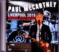 Paul McCartney ポール・マッカートニー/Liverpool,UK 2018