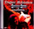Yngwie Malmsteen インヴェイ・マルムスティーン/CA,USA 2014