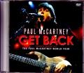 Paul McCartney ポール・マッカートニー/Get Back Japanese Broadcast Ver.