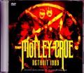 Motley Crue モトリー・クルー/MI,USA 1985