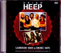 Uriah Heep ユーライア・ヒープ/London,UK 1985 & more Japanese Broadcast Ver