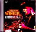 Johnny Winter ジョニー・ウィンター/MD,USA 2014