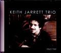 Keith Jarrett Trio キース・ジャレット/Norway 1969