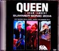 Queen,Adam Lambert クィーン アダム・ランバート/Chiba,Japan 4.17.2014 & more