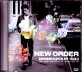 New Order ニュー・オーダー/MN,USA 1983