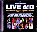 Various Artists Sting,Status Quo,Ultravox,Black Sabbath/London,UK & PA,USA 1985 Japanese Broadcast Complete Vol.1 & 2