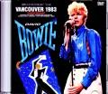 David Bowie デビッド・ボウイ/Canada 1983 Japanese Broadcast Ver.