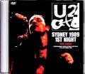 U2 ユーツー/Australia 9.27.1989