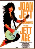 Joan Jett & the Blackhearts ジョーン・ジェット/The Jett Age Japanese Laser Disc Ver.