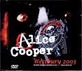 Alice Cooper アリス・クーパー/NY,USA 2003