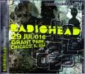 Radiohead レディオヘッド/IL,USA 2016
