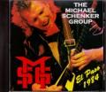 Michael Schenker マイケル・シェンカー/Texas,USA 1984