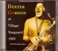 Dexter Gordon デクスター・ゴードン/New York,USA 1983