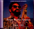 Sonny Rollins Quintet ソニー・ロリンズ/France 1982