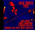 Jack Bruce Trio ジャック・ブルース/Poland 1992