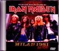 Iron Maiden アイアン・メイデン/Italy 1981 and more