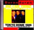 Duran Duran デュラン・デュラン/Tokyo,Japan 1989