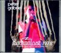 Peter Gabriel ピーター・ガブリエル/Germany 1978 Upgrade