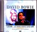 David Bowie デヴィッド・ボウイ/London,UK 1999 Japan Broadcast Ver.