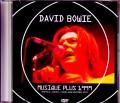 David Bowie デヴィッド・ボウイ/Canada 1999