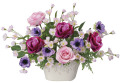 光の楽園(光触媒造花)ローズベール