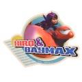 (エンスカイ) ディズニー ベイマックス トラベルステッカー : 1 ヒロ&ベイマックス