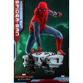 (ホットトイズ) スパイダーマン ファーフロムホーム ムービーマスターピース 1:6 スケールフィギュア : スパイダーマン (ホームメイド・スーツ版)