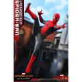 (ホットトイズ) スパイダーマン ファーフロムホーム ムービーマスターピース 1:6 スケールフィギュア : スパイダーマン (アップグレードスーツ版)