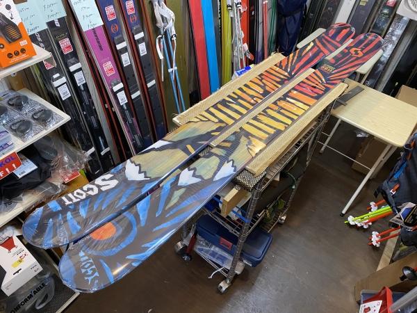 scott スキー板