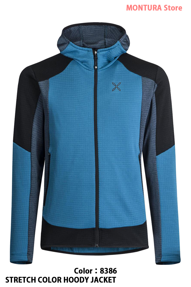 MONTURA STRETCH COLOR HOODY JACKET (MMAP09X)-8386