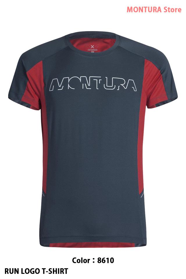 MONTURA RUN LOGO T-SHIRT (MTGR30X)-8610