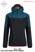 MONTURA AIR ACTIVE HOODY JACKET WOMAN (MJAW36W)-9051