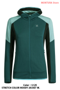 MONTURA STRETCH COLOR HOODY JACKET W. (MMAP09W)-5129