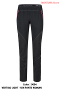 MONTURA VERTIGO LIGHT -7CM PANTS WOMAN (MPLS38W-)-9004