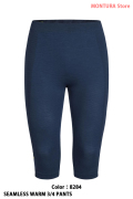 MONTURA SEAMLESS WARM 3/4 PANTS (MPTX80X)-8284