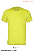 MONTURA OUTDOOR WORLD T-SHIRT (MTGN20X)-74