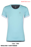 MONTURA WORLD MIX T-SHIRT WOMAN (MTGN21W)-2993