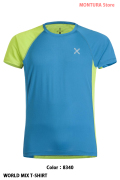 MONTURA WORLD MIX T-SHIRT (MTGN21X)-8340