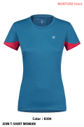 MONTURA JOIN T-SHIRT WOMAN (MTGN22W)-8304