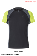 MONTURA OUTDOOR CHOICE T-SHIRT (MTGN55X)-9047