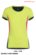MONTURA RUN MIX T-SHIRT WOMAN (MTGR03W)-4786