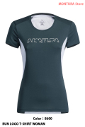 MONTURA RUN LOGO T-SHIRT WOMAN (MTGR30W)-8600