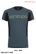 MONTURA RUN LOGO T-SHIRT (MTGR30X)-8690