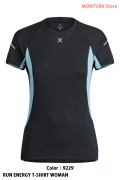 MONTURA RUN ENERGY T-SHIRT WOMAN (MTGR36W)-9229