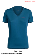 MONTURA OUTDOOR DAY T-SHIRT WOMAN (MTVN20W)-8304