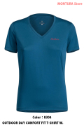 MONTURA OUTDOOR DAY CONFORT FIT T-SHIRT W. (MTVN20WC)-8304