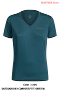 MONTURA OUTDOOR DAY CONFORT FIT T-SHIRT W. (MTVN20WC)-5104