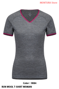 MONTURA RUN WOOL T-SHIRT WOMAN (MTVR60W)-9004