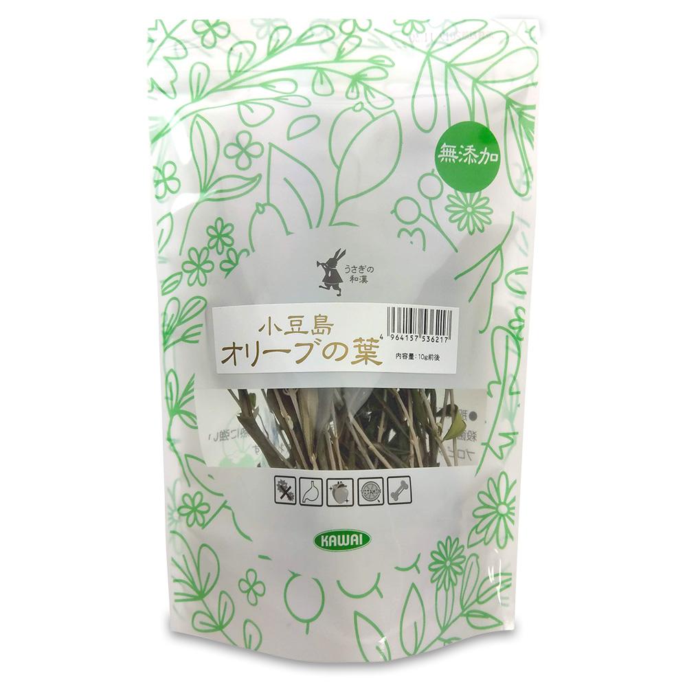 川井社うさぎの和漢小豆島オリーブの葉